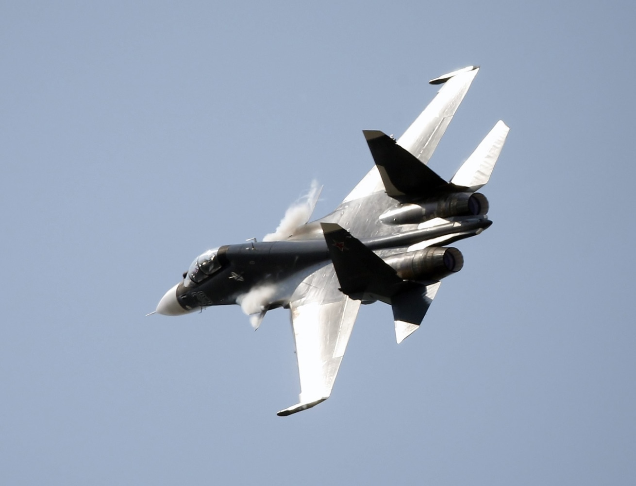 Russian Jet Buzzes US Navy Spy Plane Over Black Sea