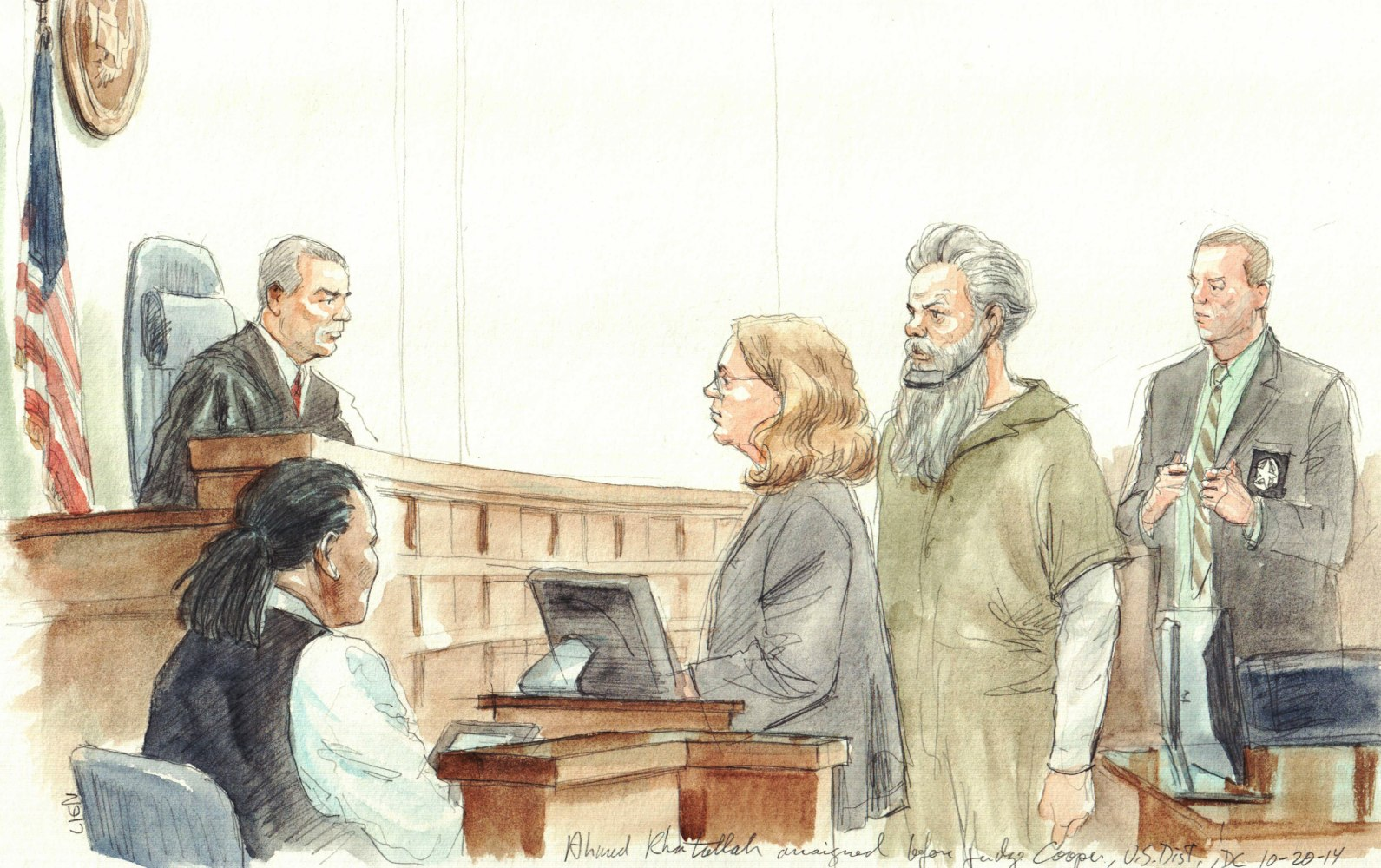 Image result for ahmed abu khatallah trial