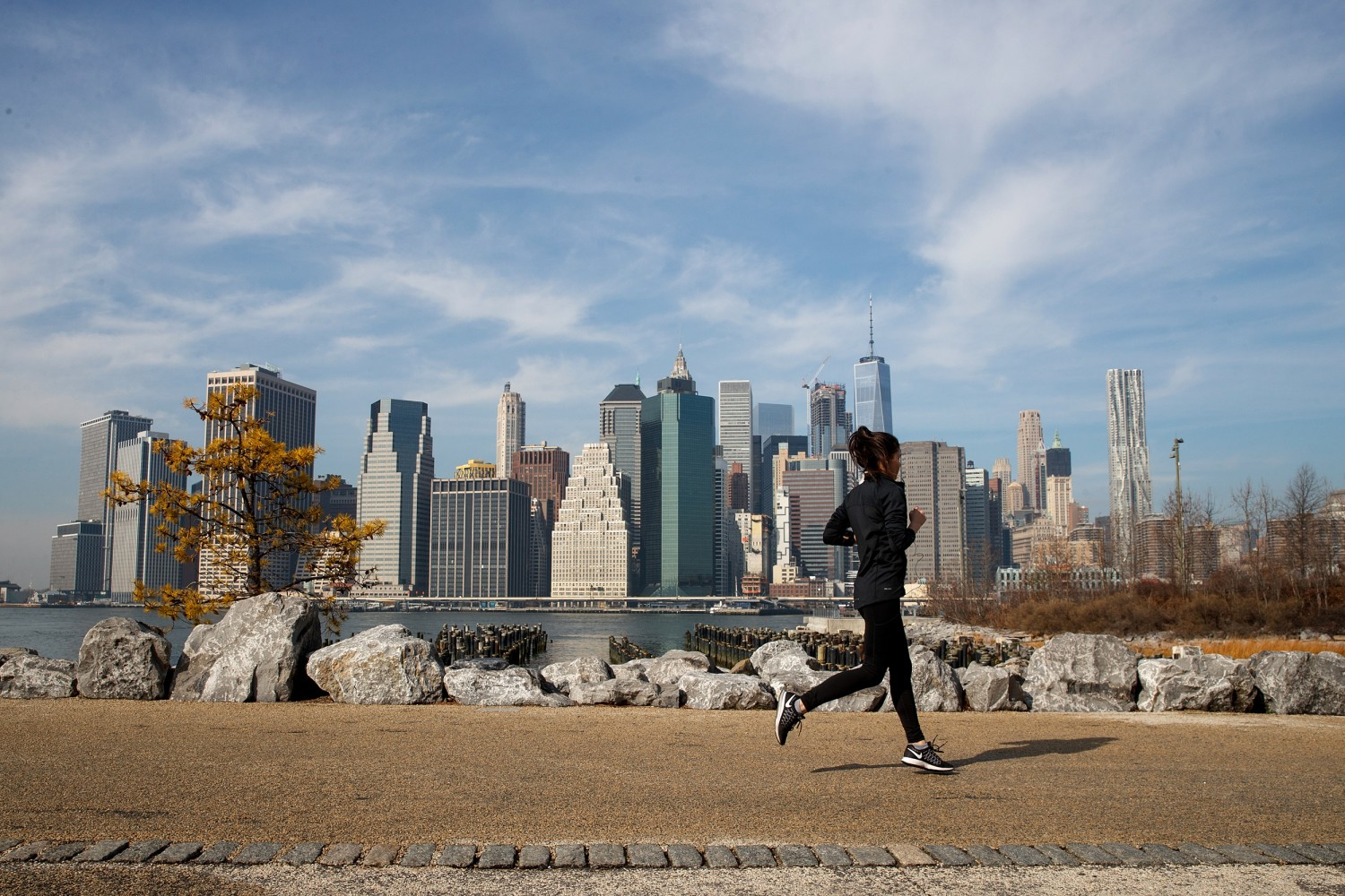 Image Unseasonably Warm February Temperatures Approach 60 Degrees In New York City