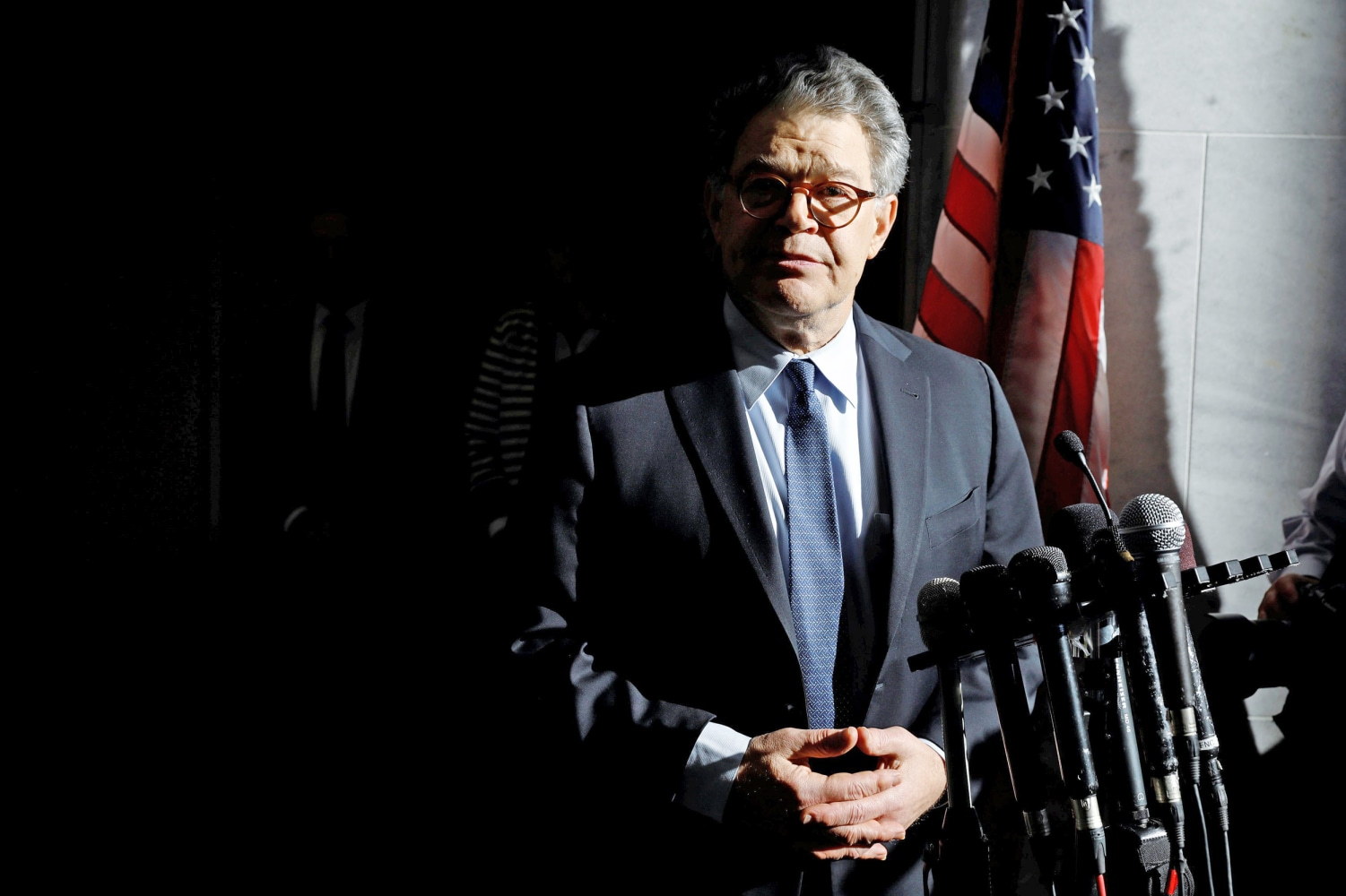 Democrat Franken says goodbye in Minnesota