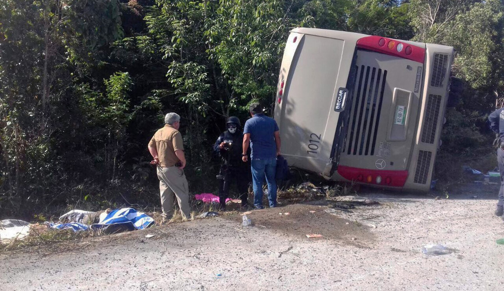 Mexico Tour Bus Crash Kills At Least 12
