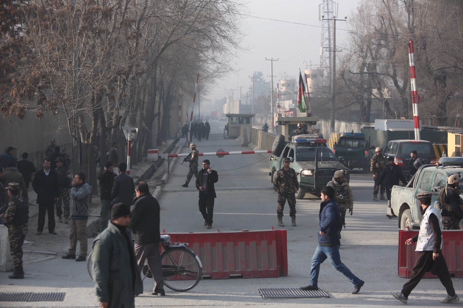 Kabul bombing near Afghan intelligence agency