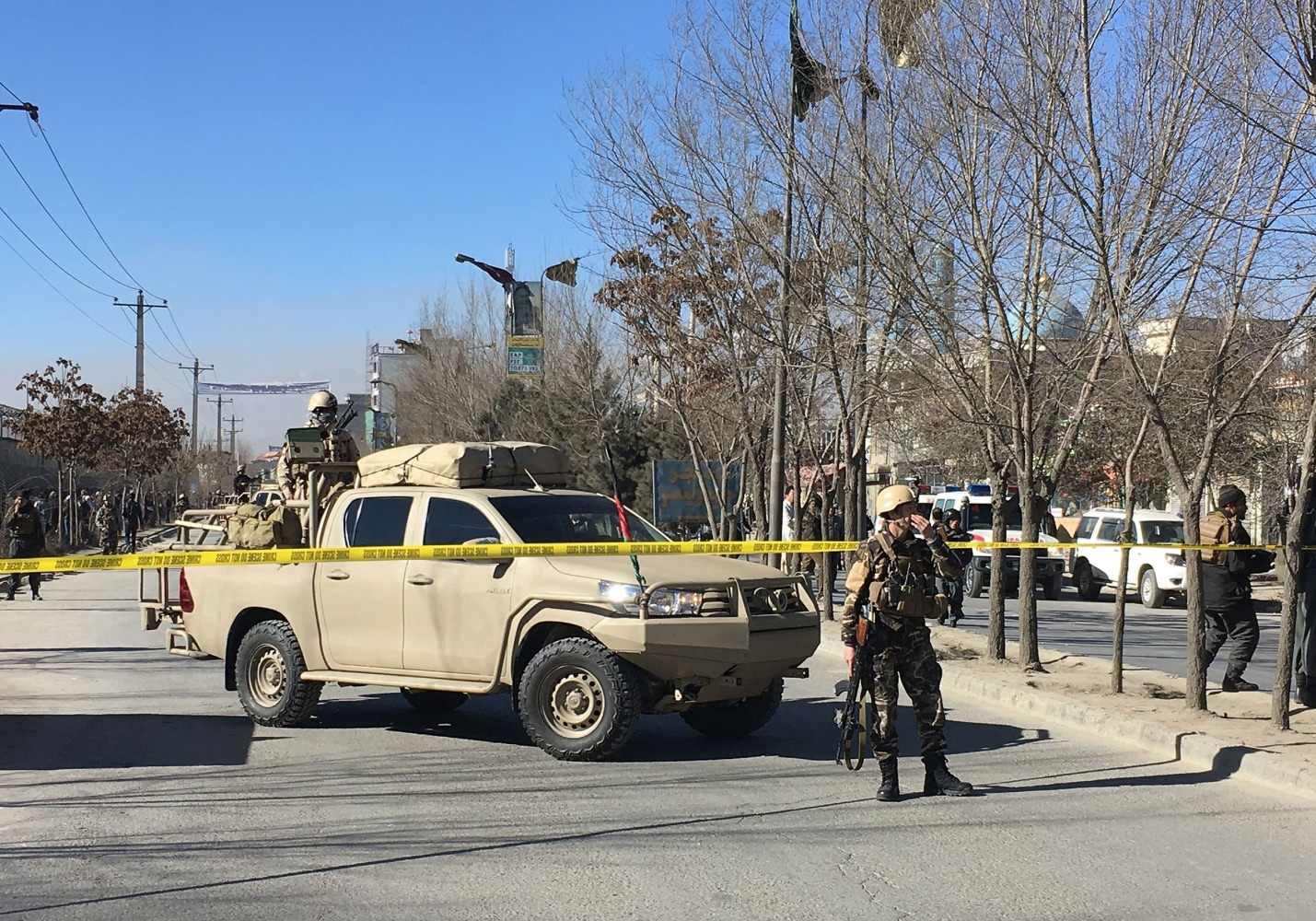 Islamic State claims responsibility for deadly attacks in Kabul