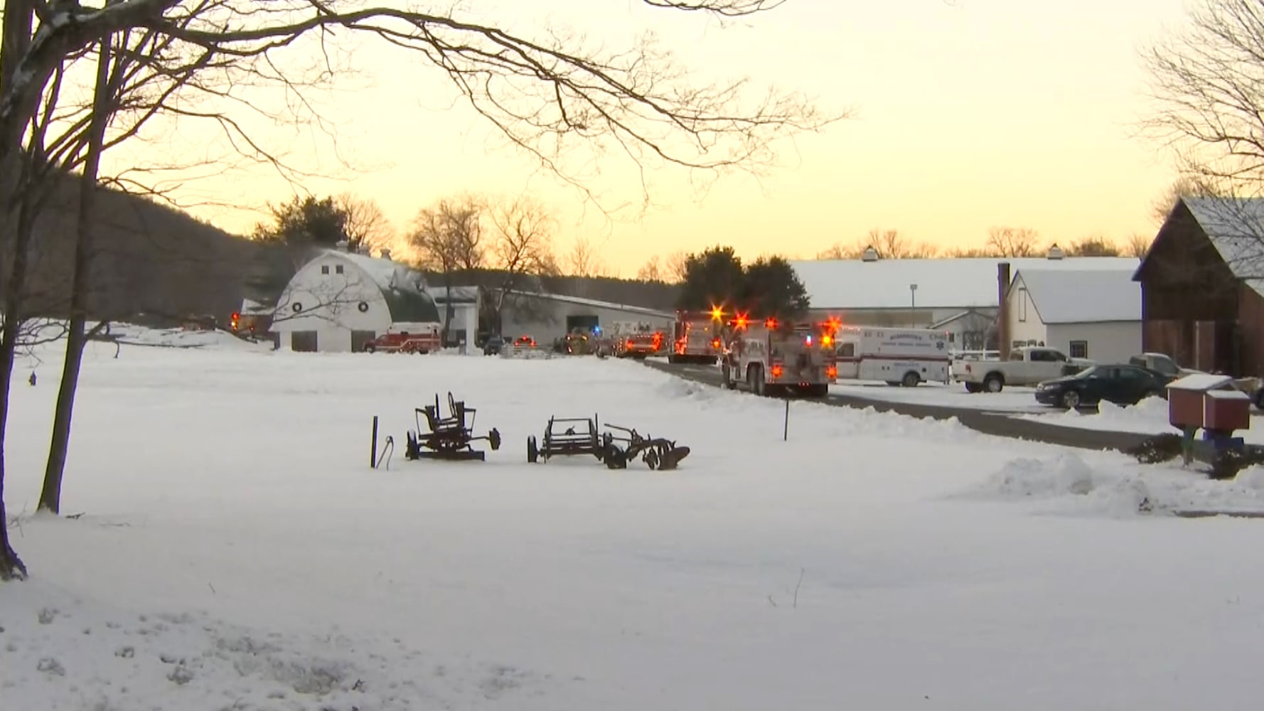 CT barn fire kills 24 horses
