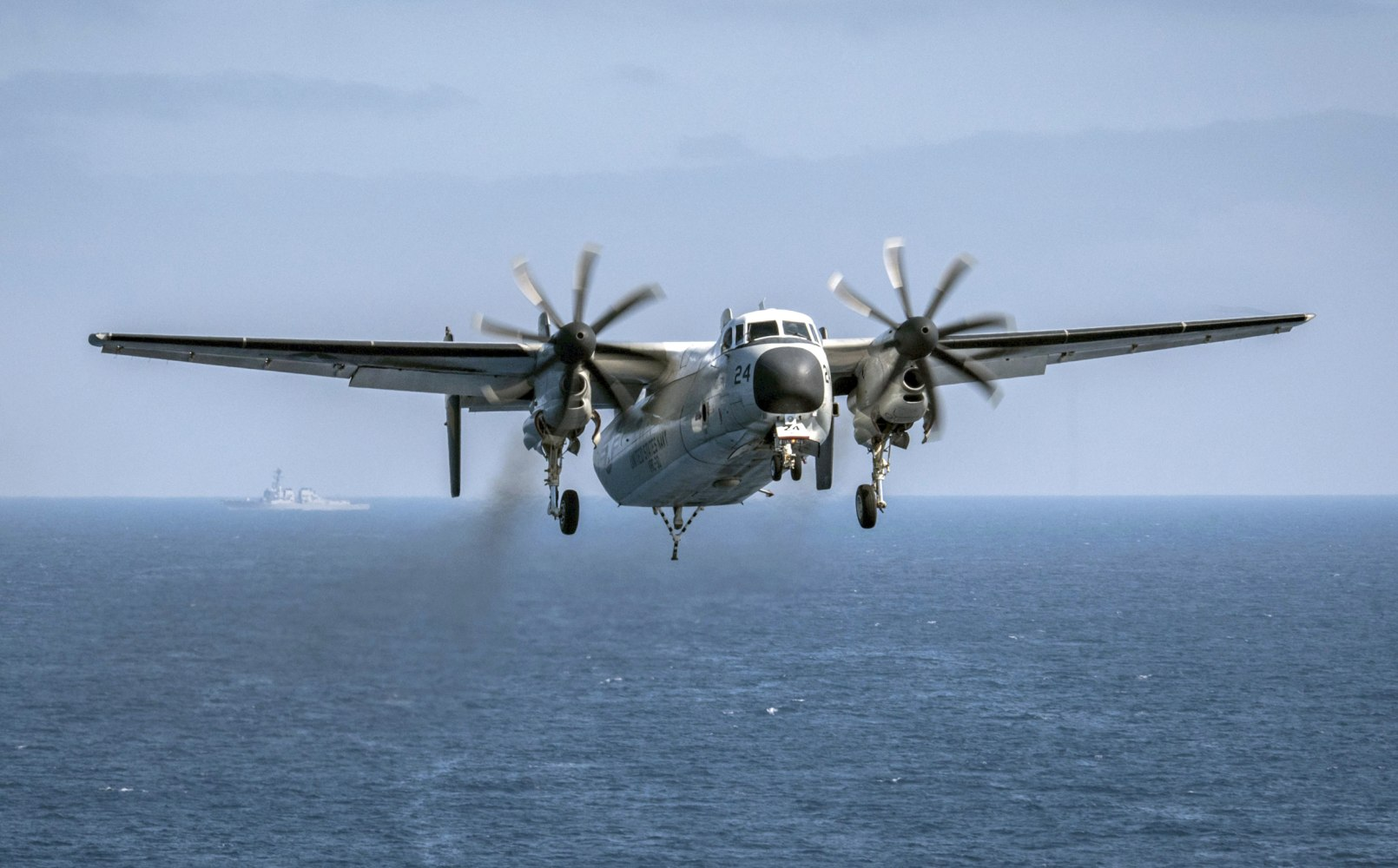 Navy finds plane that crashed, killing 3, on Pacific seabed