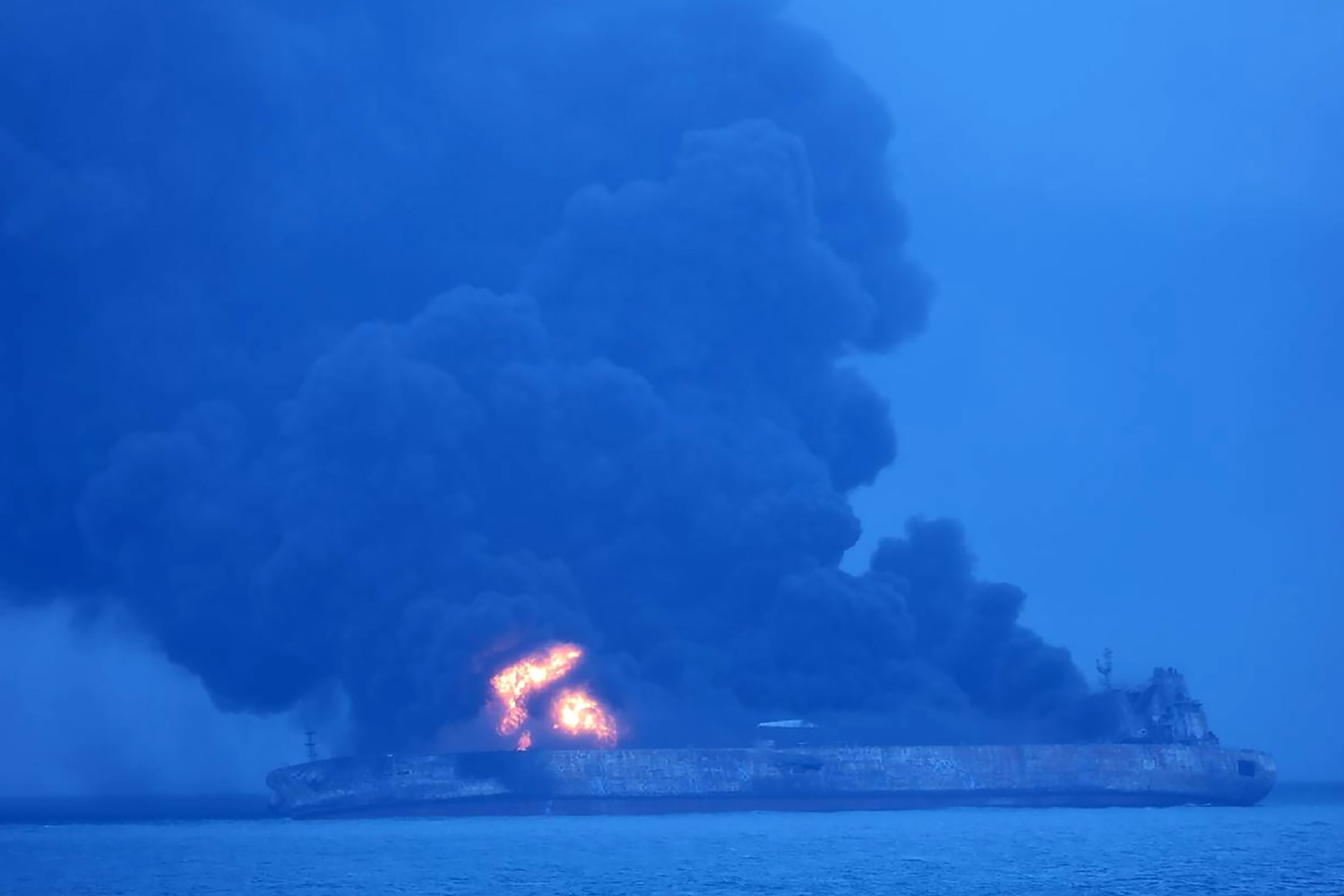 Image SKOREA-CHINA-IRAN-ACCIDENT-SHIP