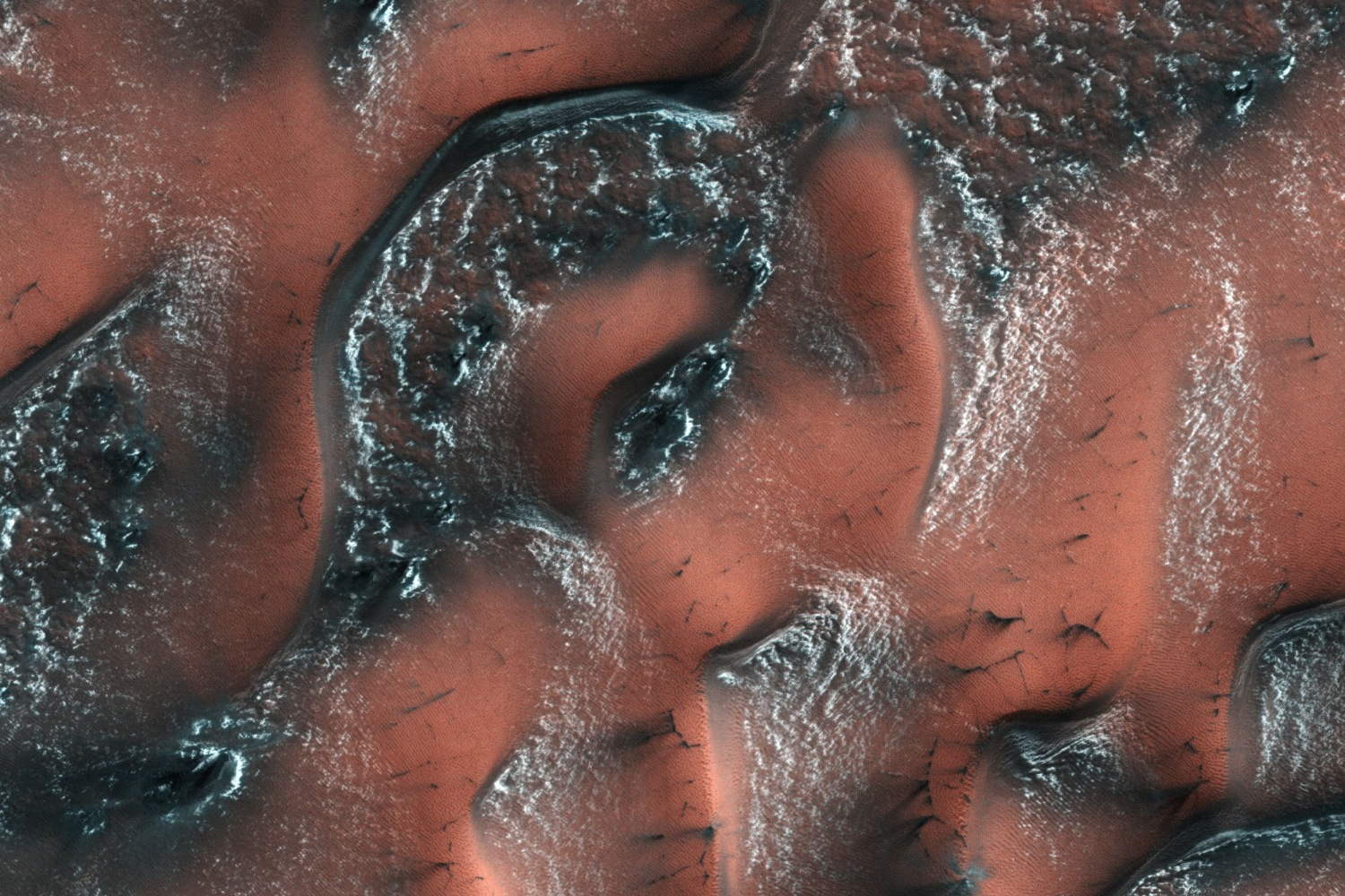 Vast Sheets of Ice Have Been Found on Mars