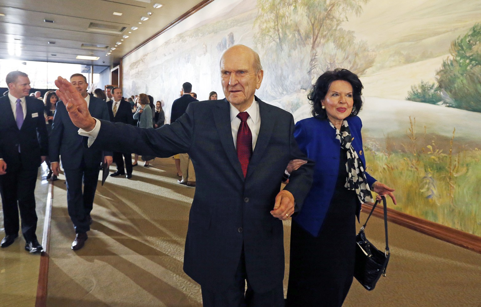 Pres. Russell M. Nelson announced as 17th President of LDS church