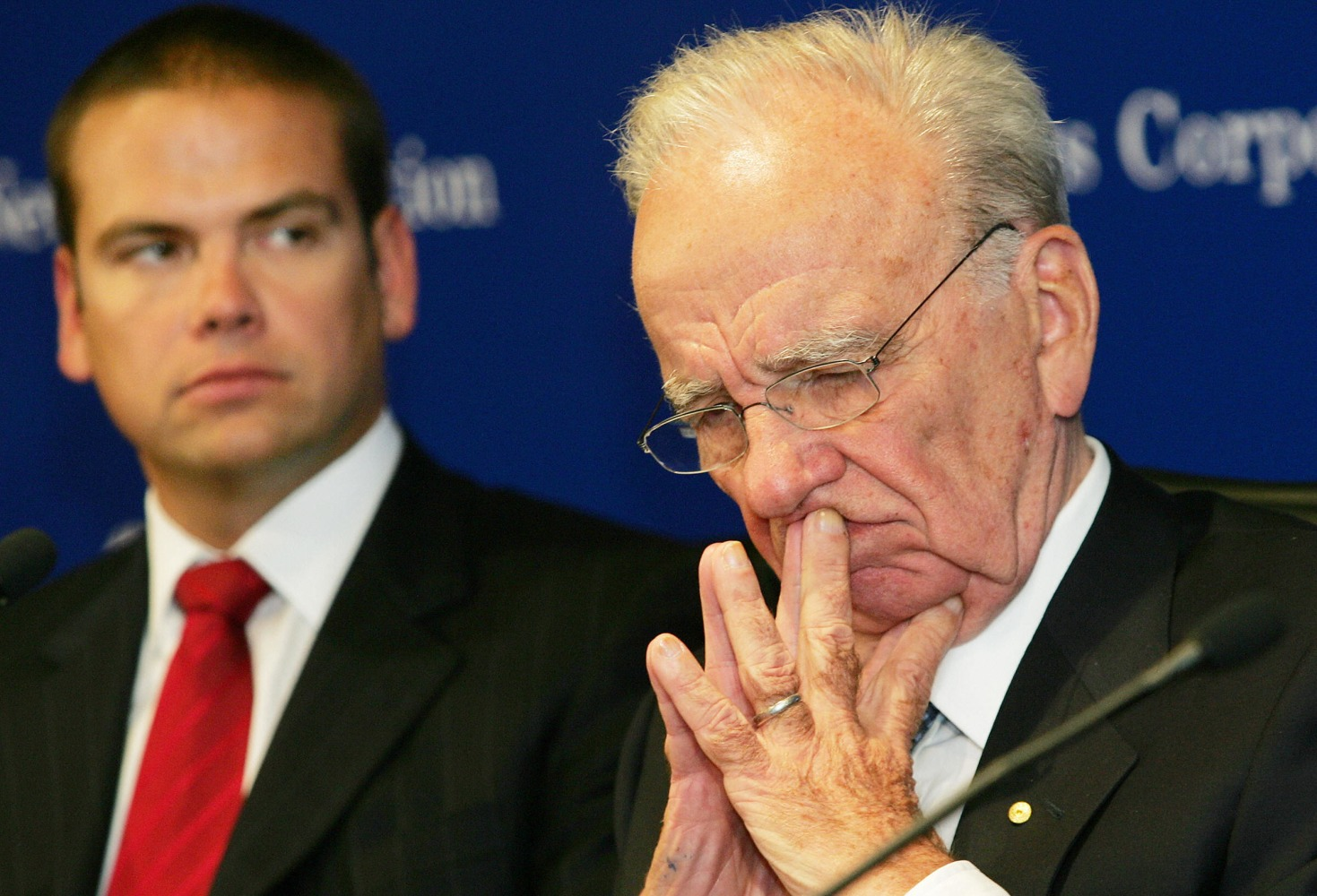 Rupert Murdoch Recuperating After Yachting Accident