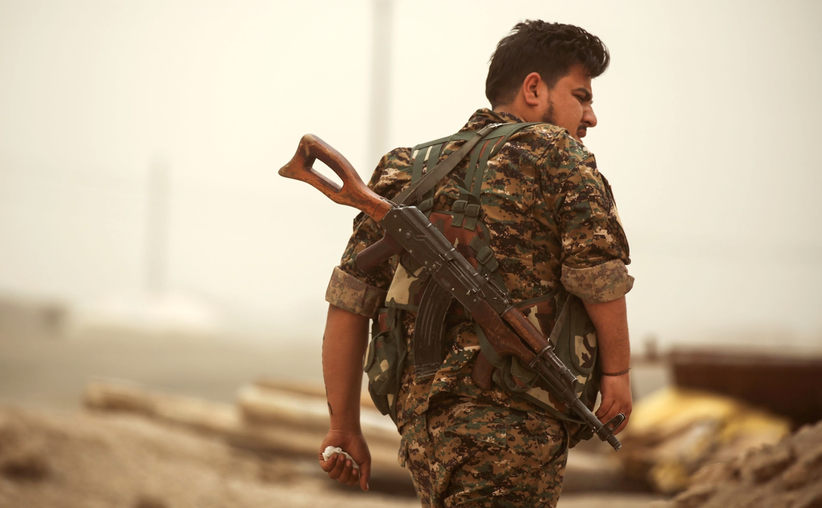 U.S. backpedals on new Kurdish force