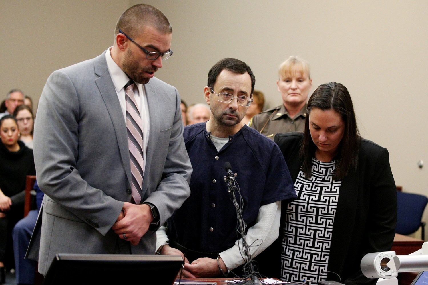 Gymnastics doctor Larry Nassar sentenced to up to 175 years for sex abuse