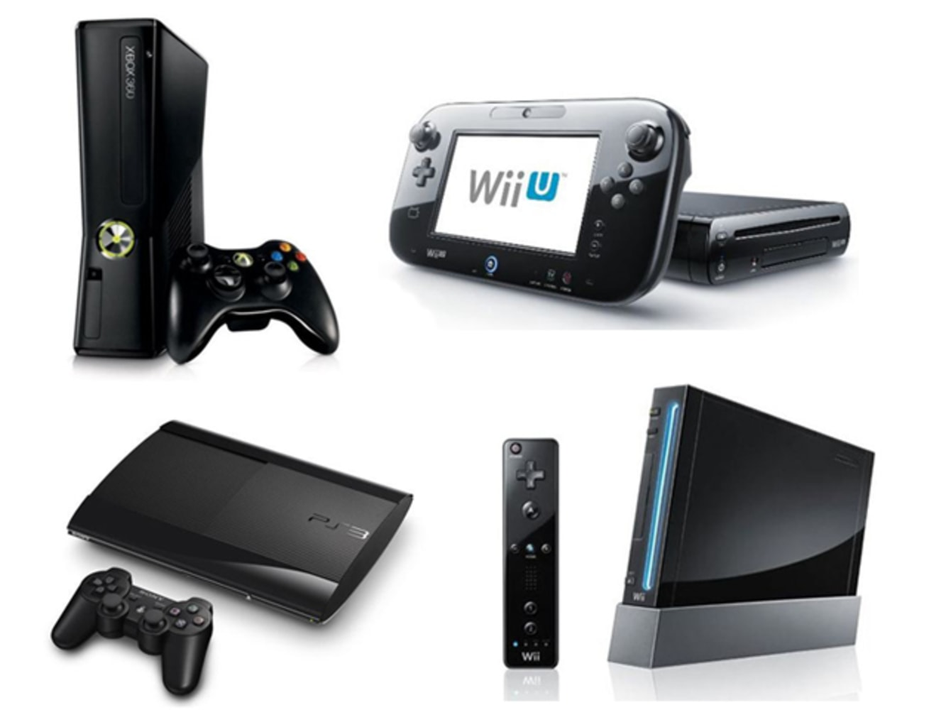 wii u xbox 360 playstation 3 which game machine should