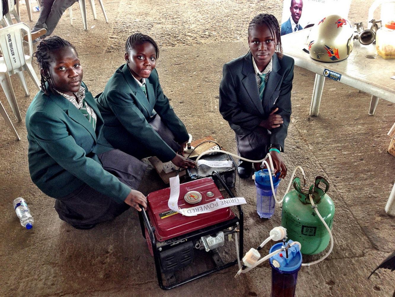 Generator Powered by Urine of Urine-powered Generator