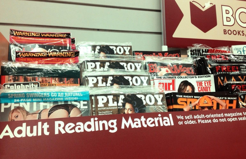 adult magazine store individual
