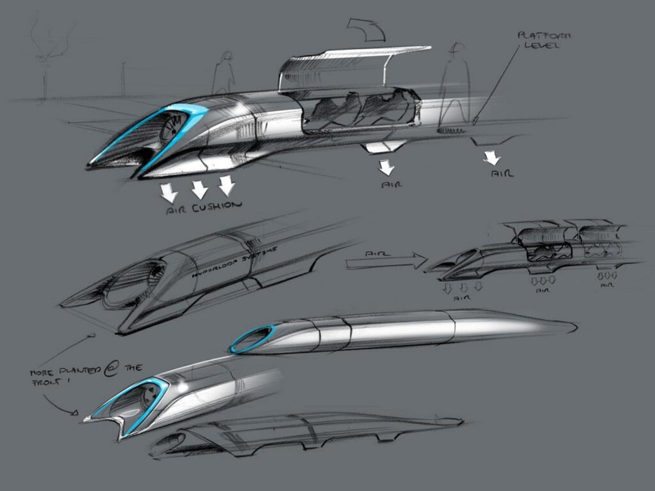 Hyperloop revealed: Elon Musk foresees rapid transit in a tube