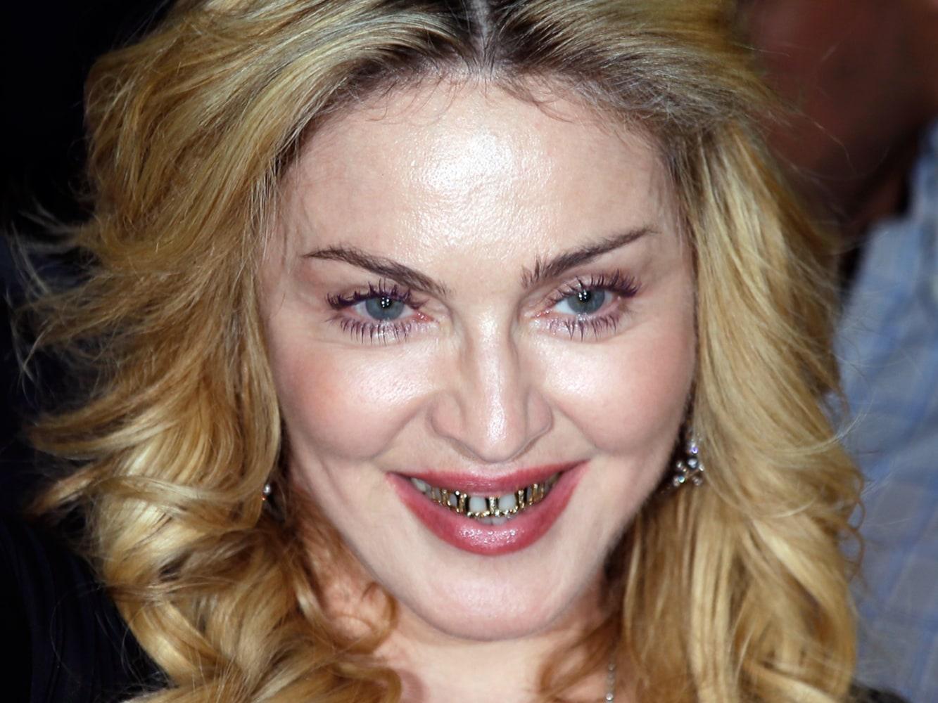 Мадонна сейчас фото без макияжа