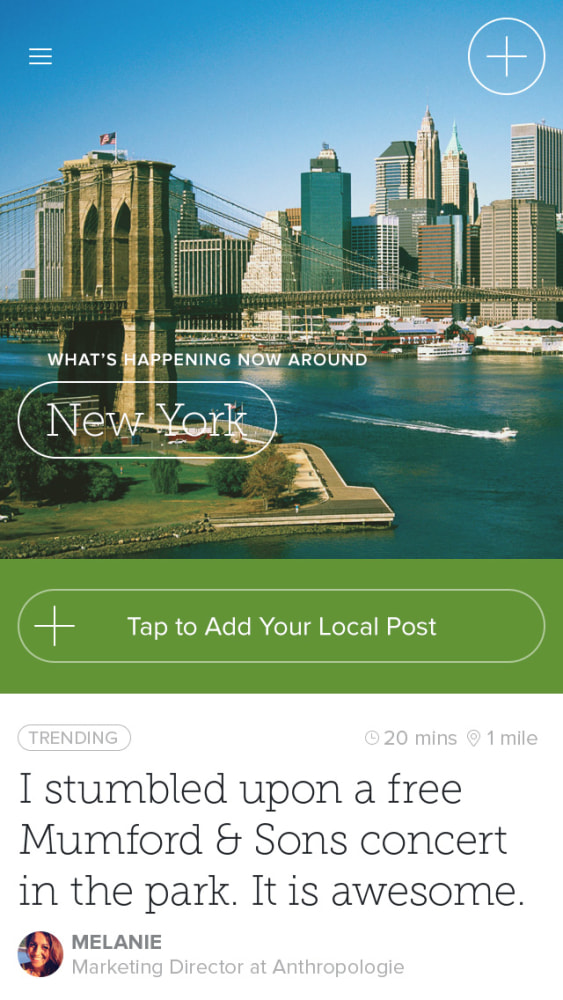 Circle, latest hot iPhone app, wants to connect you with