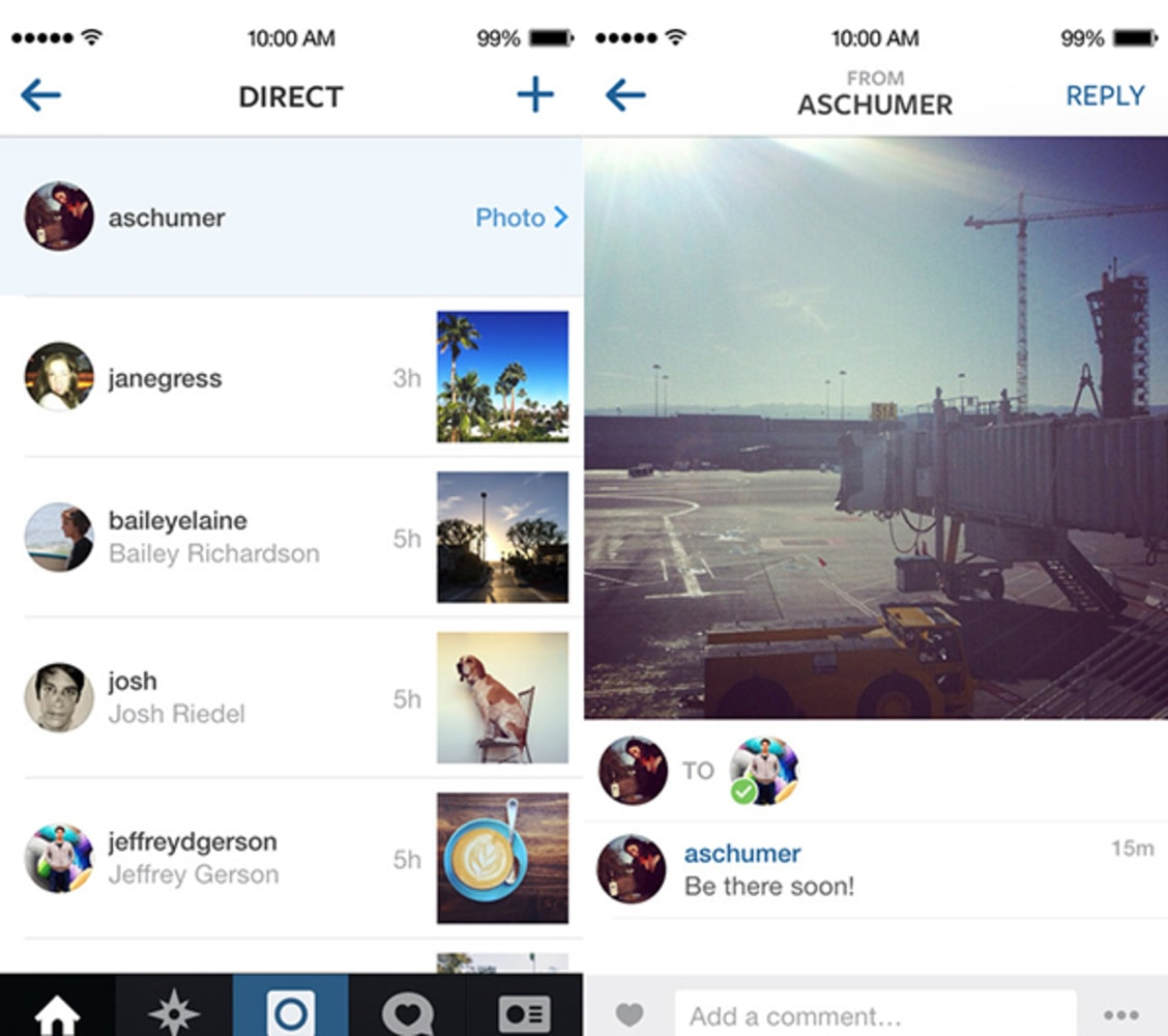 Facebook takes on Snapchat with Instagram Direct - NBC News