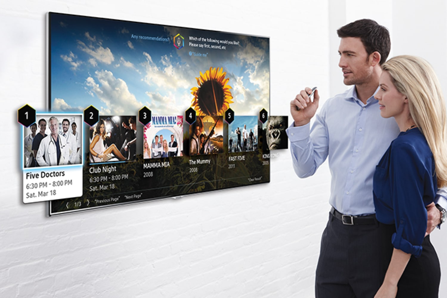 Samsung's new smart TV doesn't mean the end of the remote control