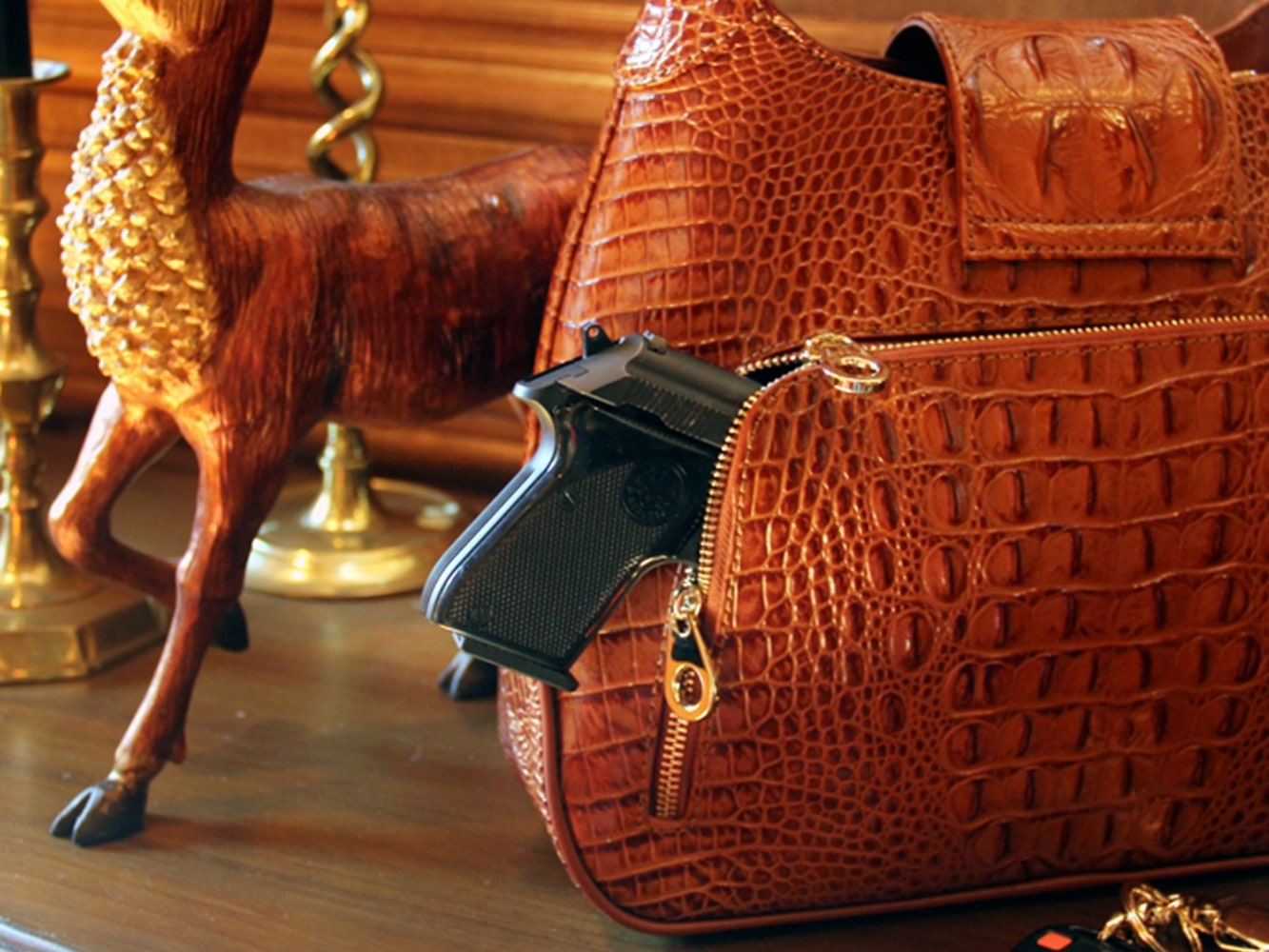 Packing Heat In Style High End Purses Help Women Conceal