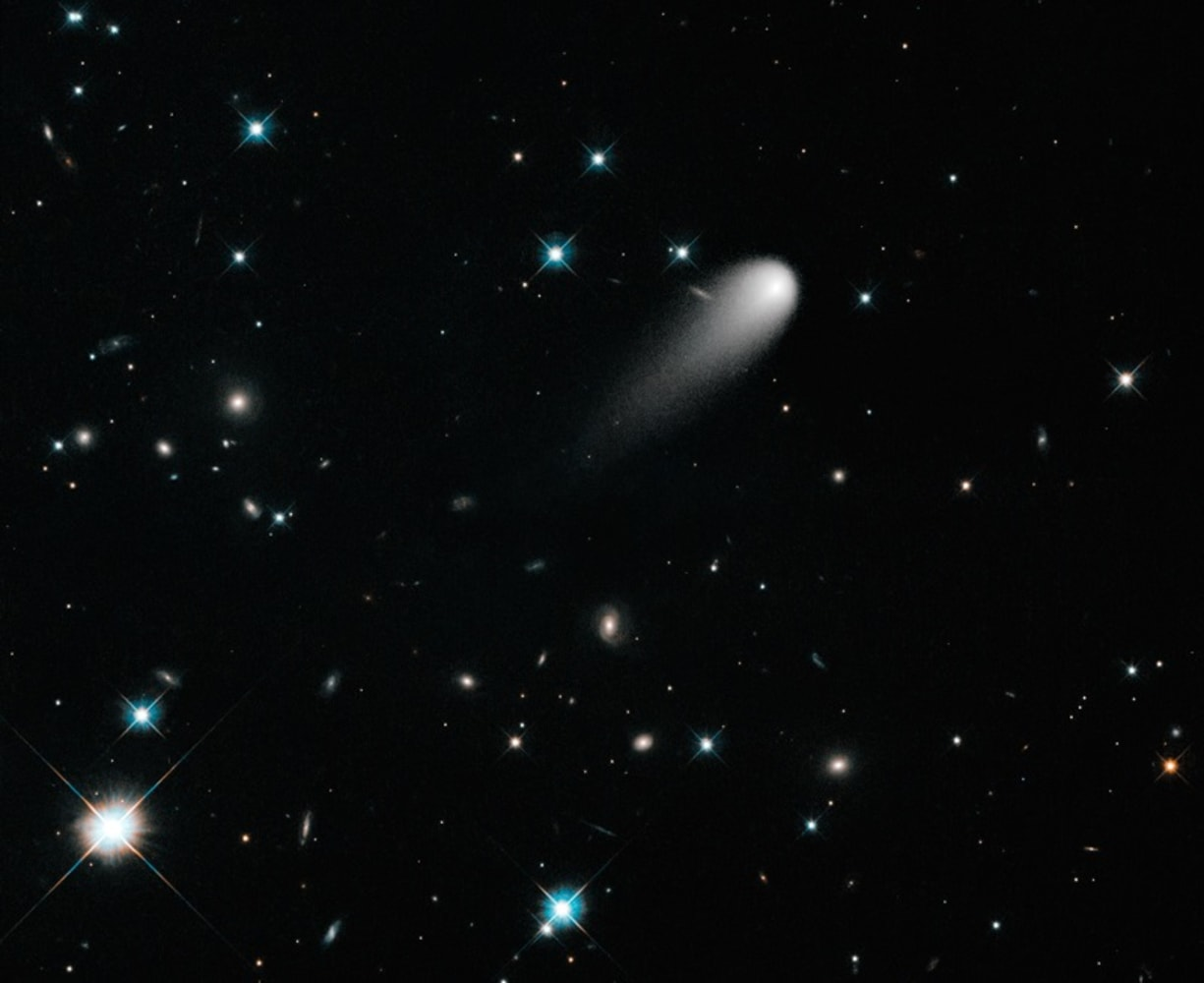 Comet ISON gets its day in the sun - NBC News