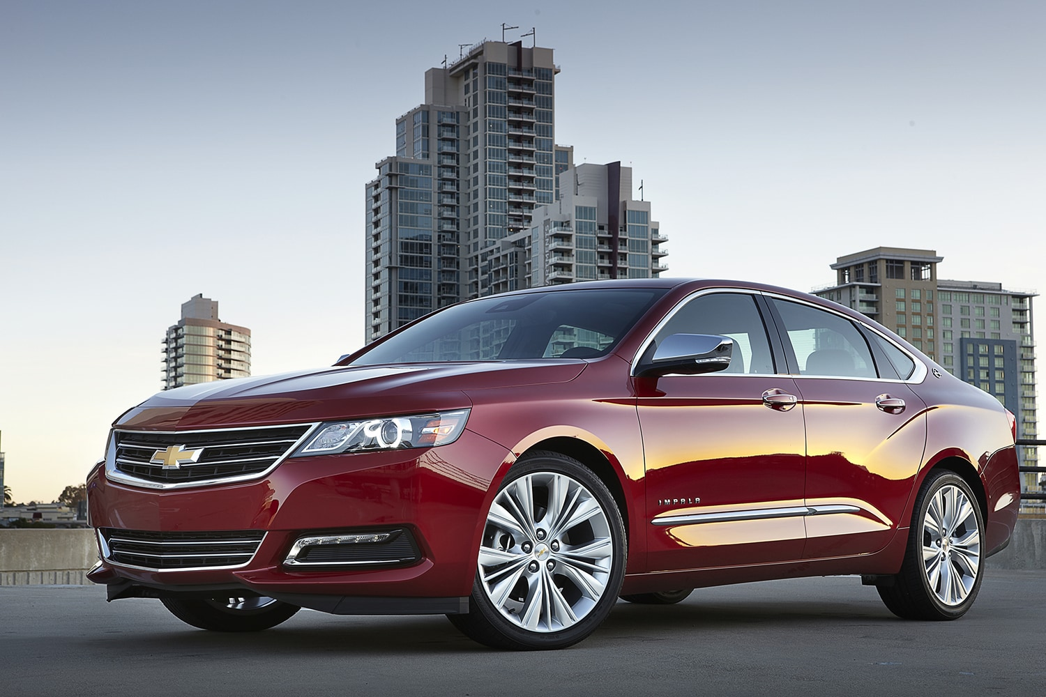 This Undated Photo Provided By Chevrolet Shows The 2014 Chevrolet Impala  LTZ. A Completely Reworked