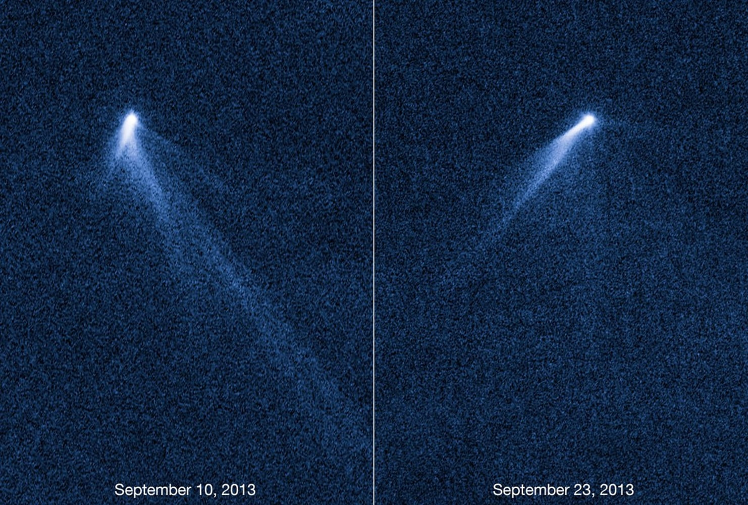 Six-tailed comet or self-destructing asteroid? It's a ...
