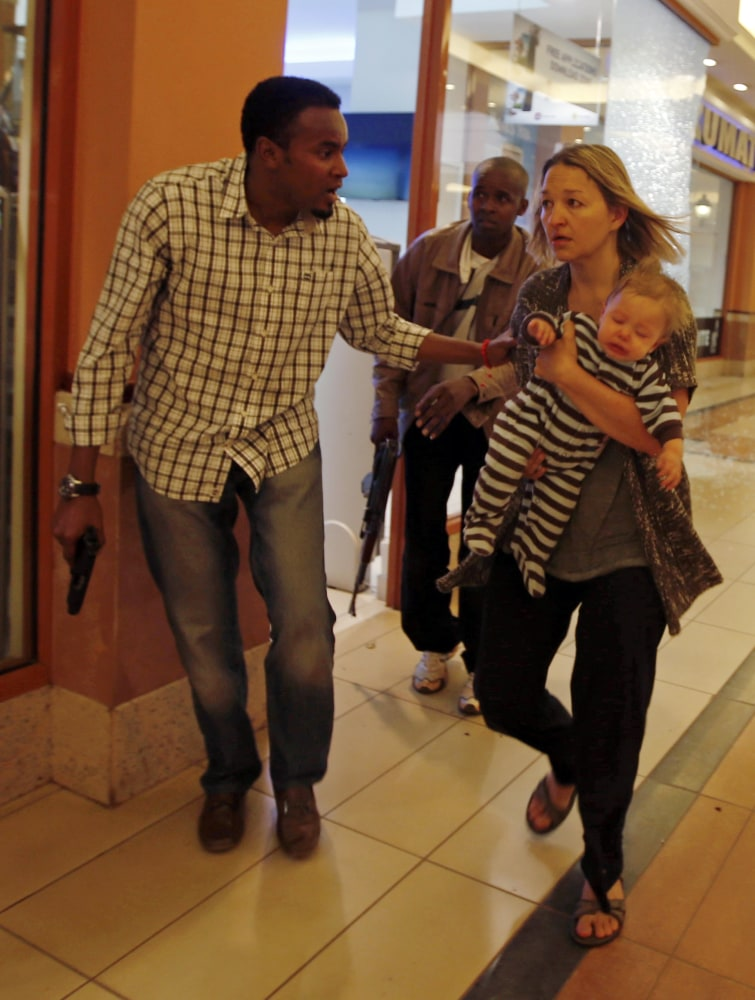 Freeze frame: Survivors seen in iconic photos of Kenya mall attack ...