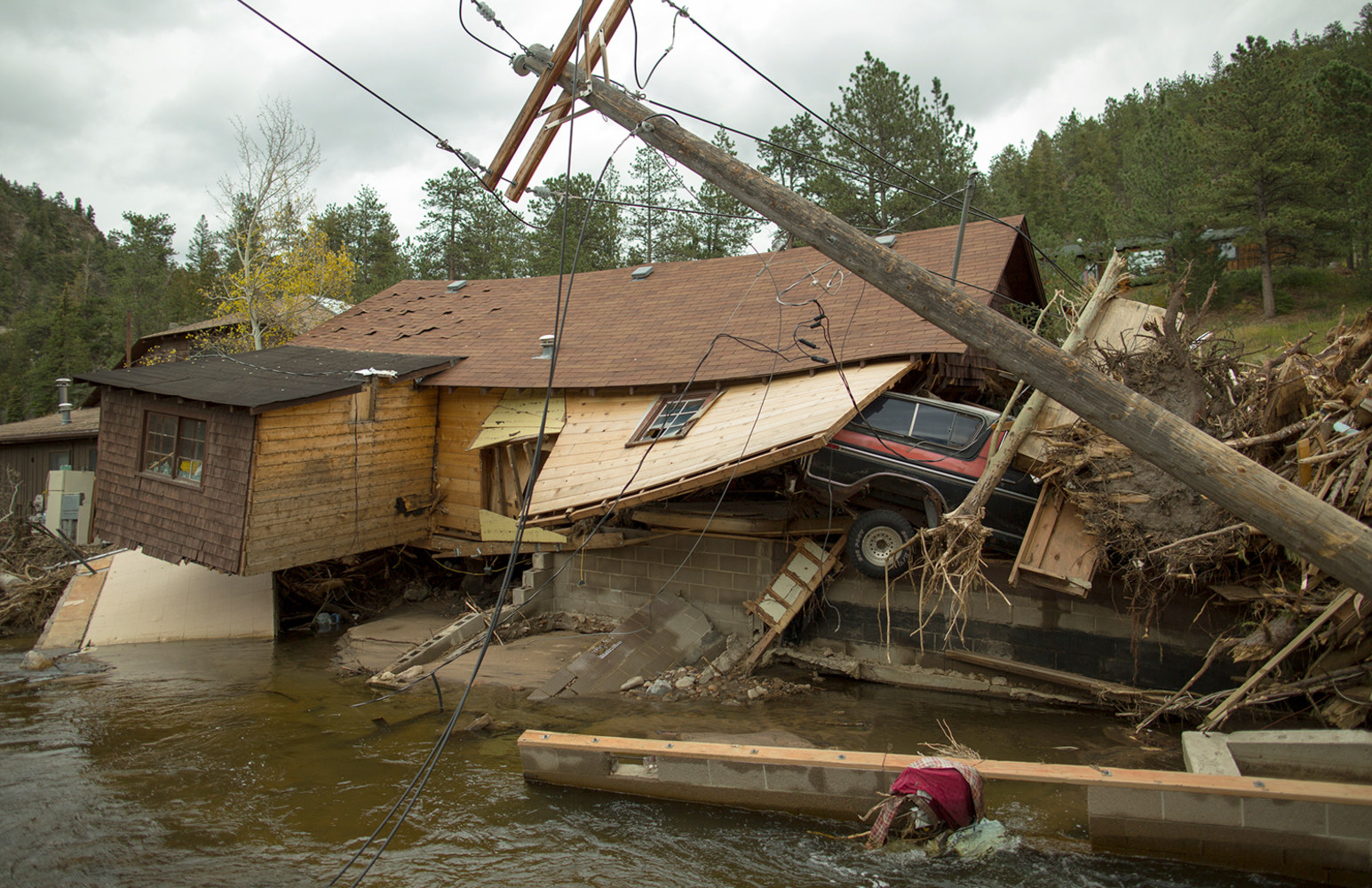Colorado floods: A month later, mountain towns 'spooky ...