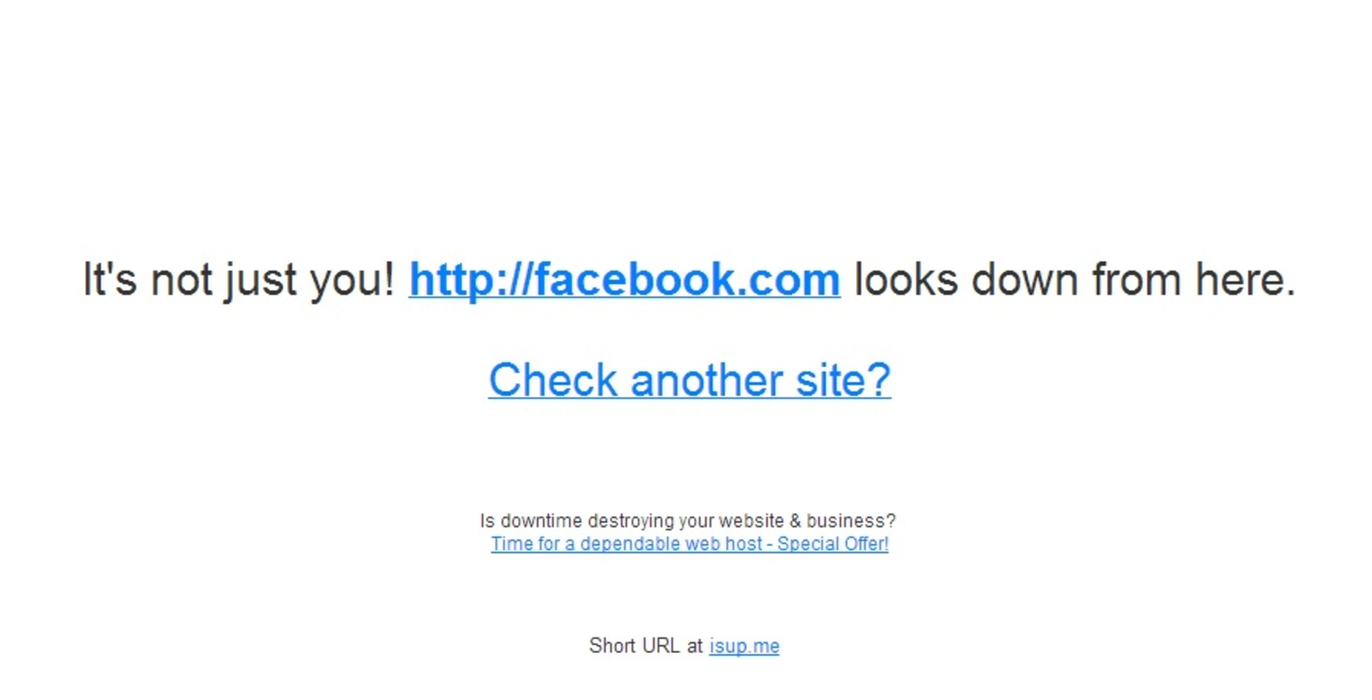 Facebook says it's back up to 100 percent after maintenance 'issue ...