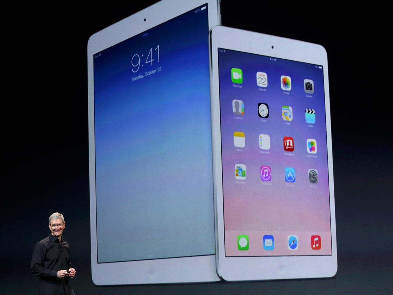 iPad becomes iPad Air, Mini gets Retina screen