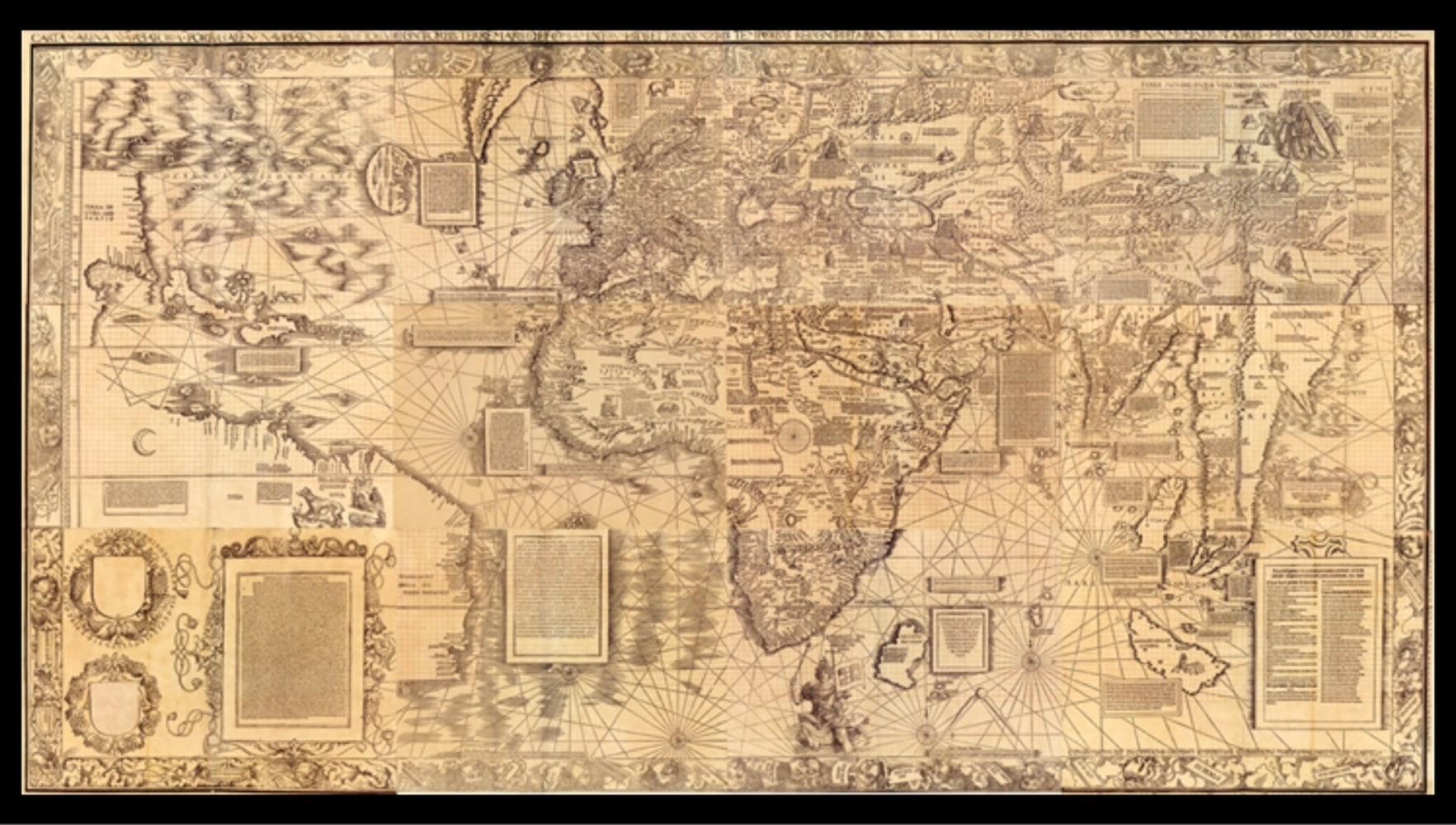 Mysterious renaissance map charts cartographer's methods   NBC News