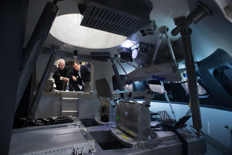 next manned spacecraft interior - photo #5