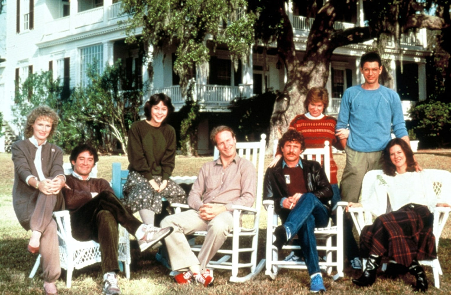 39 the big chill 39 cast reunites after 30 years nbc news