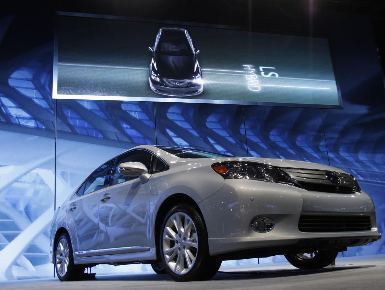 A Lexus HS 250h Hybrid Is Seen At The Chicago Auto Show February 10, 2010