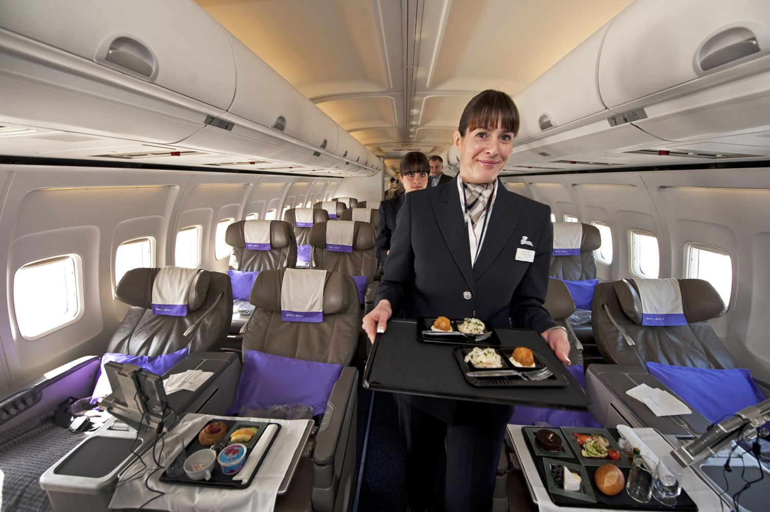 should you tip your flight attendant nbc news a flight attendant for the new airline open skies a 100 percent business class airline