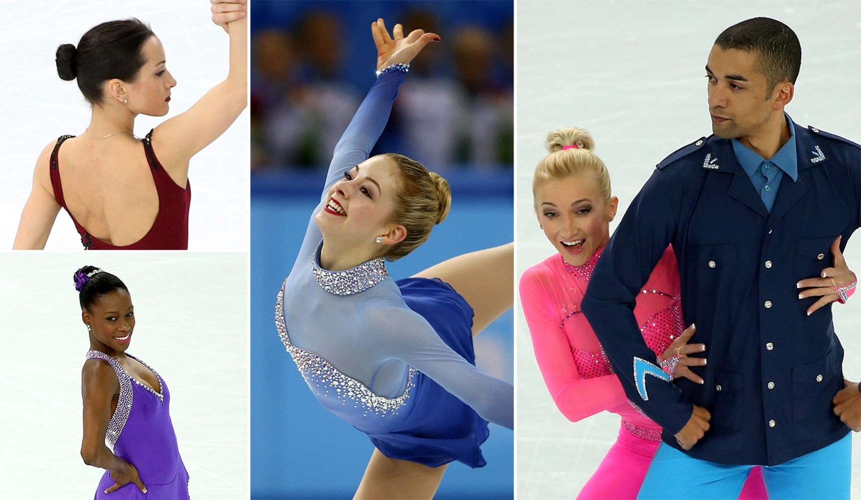 buns! bobs! mullets! olympic skating hair by the decade - nbc news