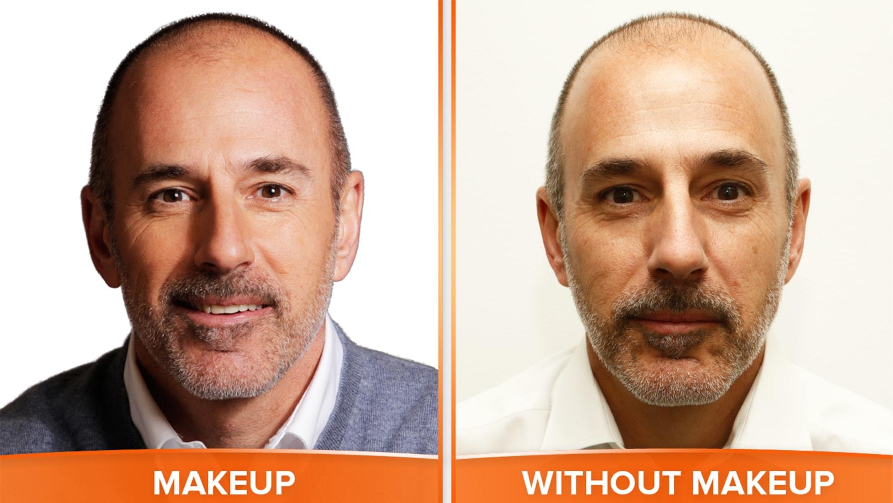Men and makeup