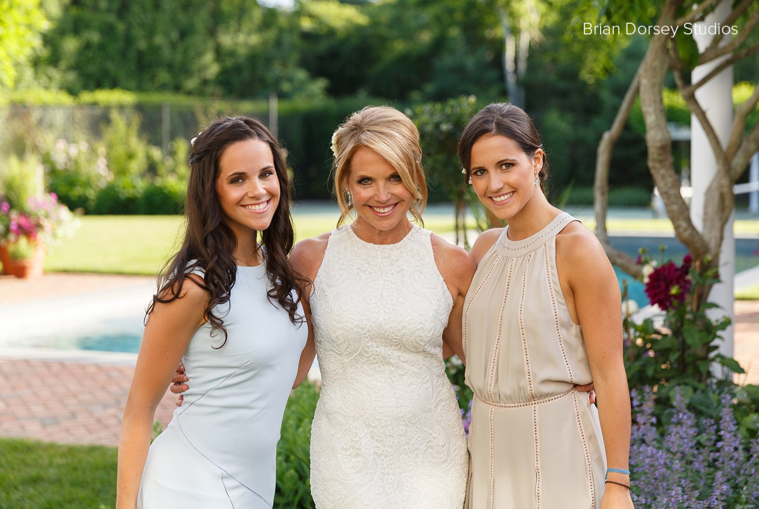 beautiful bride katie couric shares wedding pictures with today