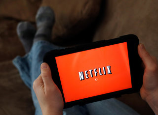 Image: Netflix on a tablet