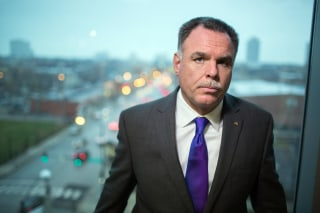 Image: Chicago Police Superintendent Garry McCarthy at his office