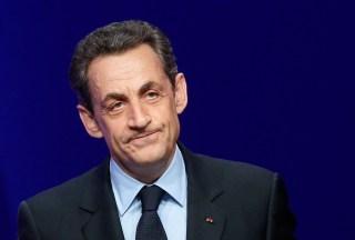 Image: Nicolas Sarkozy in 2012
