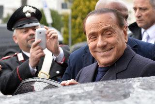 Image: Former Italian Prime Minister Silvio Berlusconi