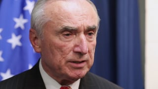 Image: New York City Police Commissioner Bill Bratton during an interview with NBC News