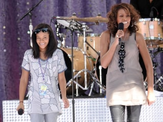 Image: Whitney Houston, Bobbi Kristina Brown