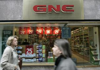 Image: GNC nutrition store