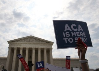 Image: Supreme Court To Issue Landmark Rulings On Obamacare, Same Sex Marriage