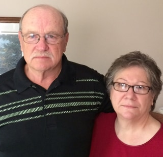 Image: Steve Skrzypczak, shown here with wife Barbara, was told by Dr. Farid Fata that he had non-Hodgkin's lymphoma.