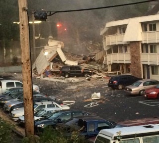 Image: The scene at Motel 6 in Bremerton, Washington