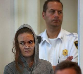 Image: Rachelle Dee Bond is arraigned